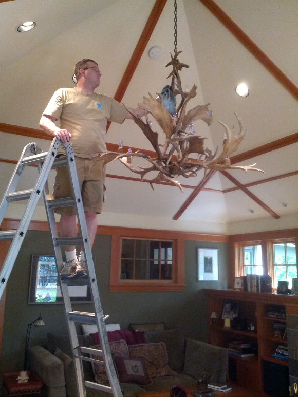 Chandelier Cleaning in St. Louis Park, MN by Wren Windows