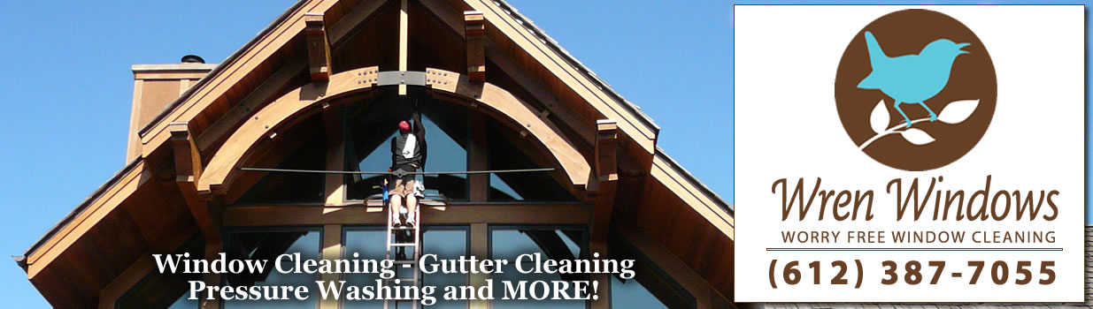 Window Cleaning in Minneapolis and St. Paul, MN by Wren Windows